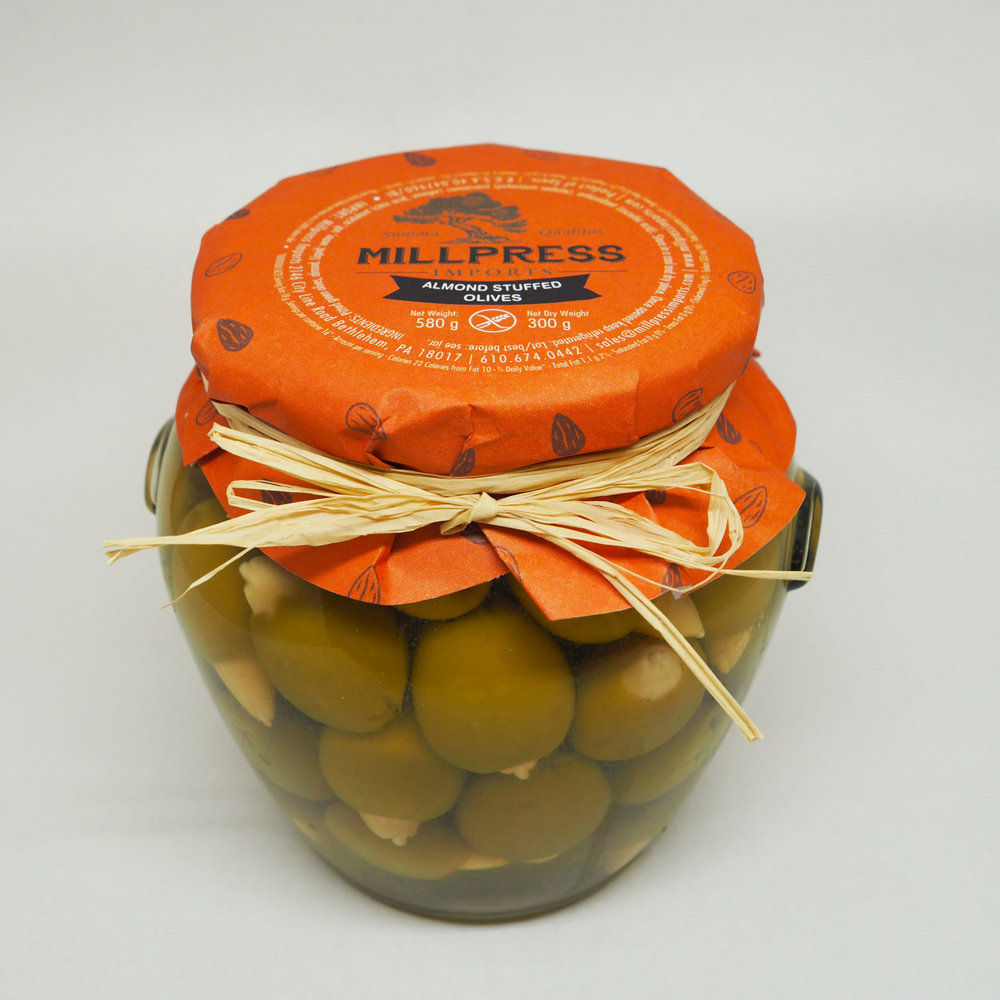 Almond Stuffed Olives - Product Of Spain