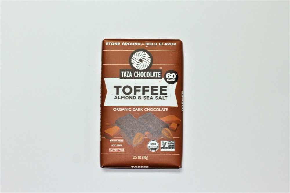 Toffee Amaze Bar 60% Dark - Product Of Mexico