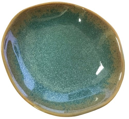 Mystic Blue Oil Dipping Dish -