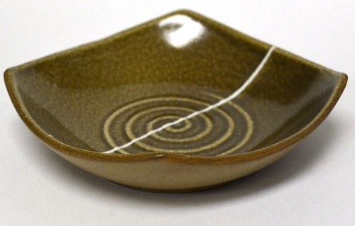 Swirl Oil Dipping Dish -