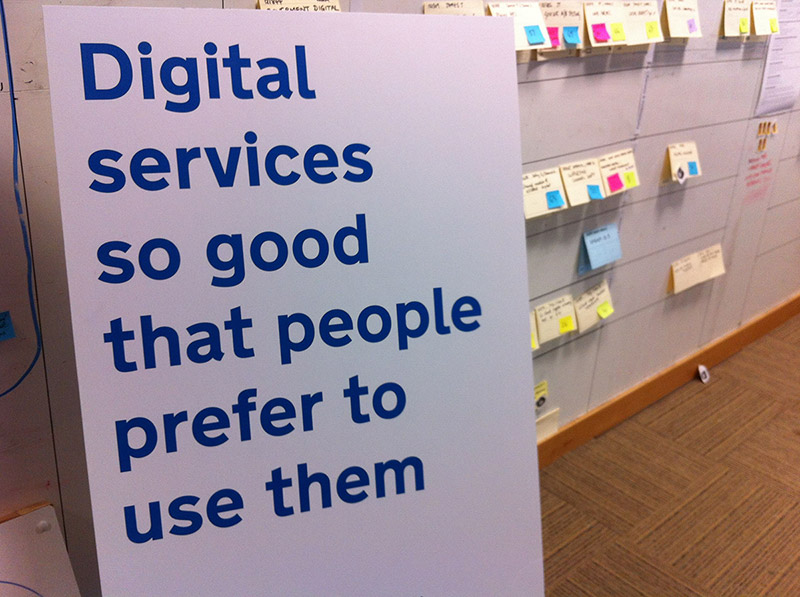 "The UK's Government Digital Strategy aspires to build digital services that are ""so good that people prefer to use them."" That's a worthy goal for nonprofits, too.  Photo by   Dafydd Vaughan  ,   CC BY-SA 2.0  ."