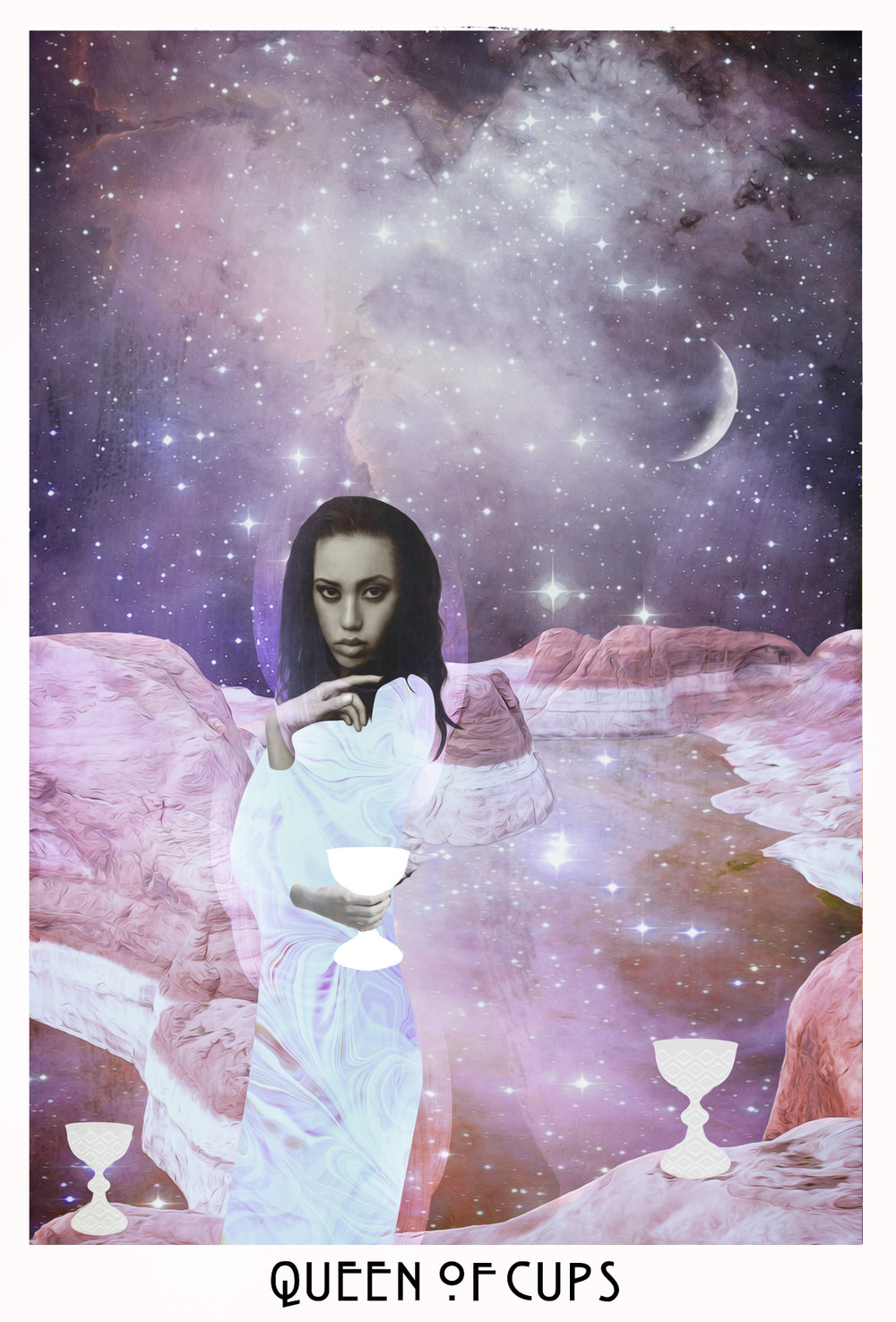 HUMAN DESIGN X TAROT - The Queen of Cups really embodies the energy of Gate 13. Compassionate and nurturing, people are attracted to her healing aura and know that they can confide in her to be honest and to keep their secrets.Image via Starchild Tarot