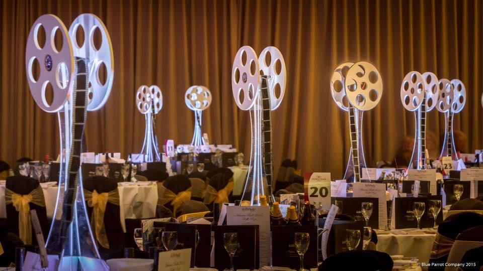 Film Reel Table Centre