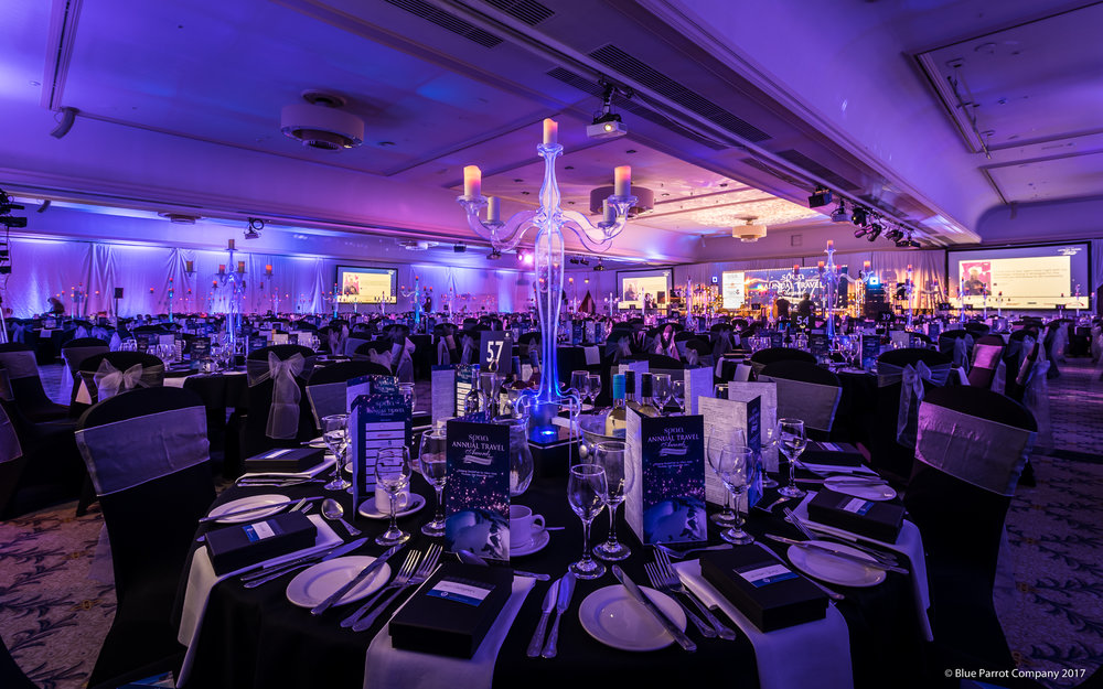 Candelabras at Doubletree by Hilton Glasgow