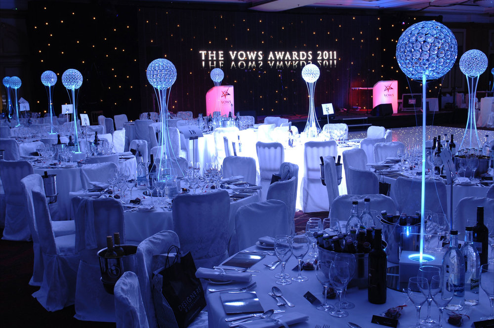 Crystal Globes at Vows 2011