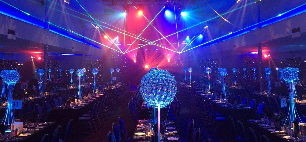 Crystal Globes at EICC