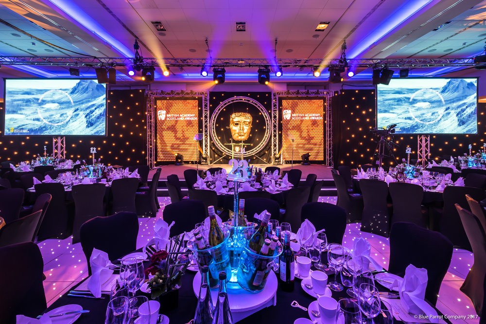 Ice Buckets at BAFTA Scotland Awards
