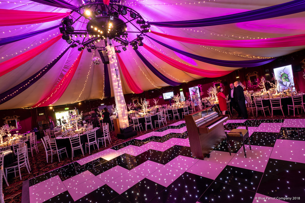 Themed Ceiling draping at Prestonfield House