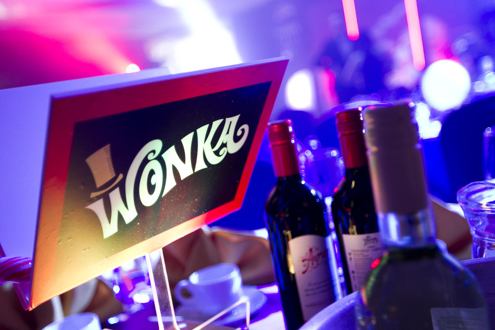 Wonka table centres
