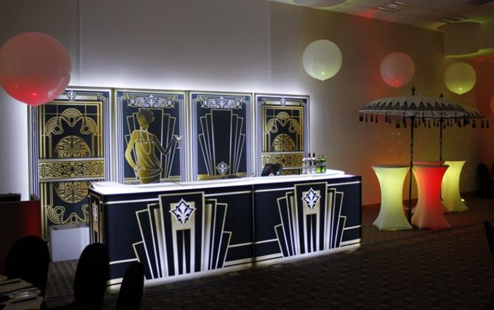 Gatsby themed bar