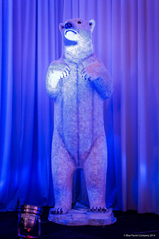 Polar bear prop