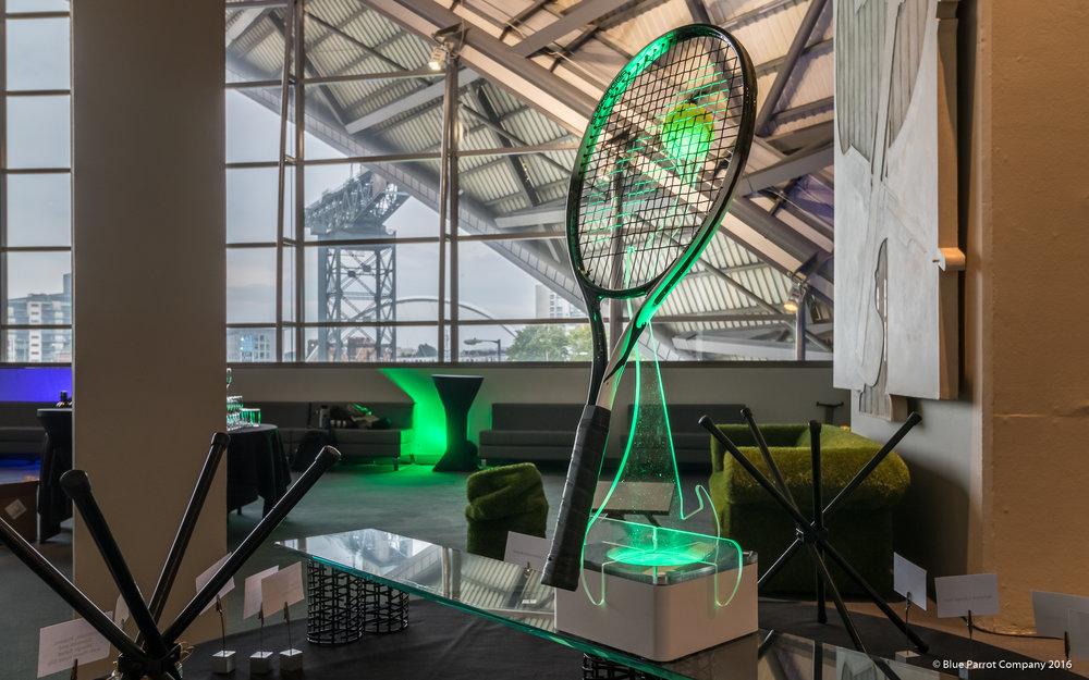 Tennis Racket Table Centre