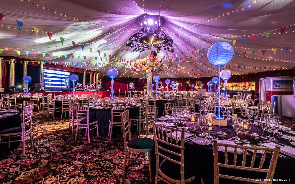 Festival Lanterns Table Centres at Prestonfield