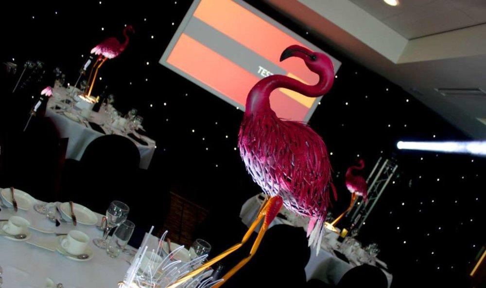Flamingo Centrepieces