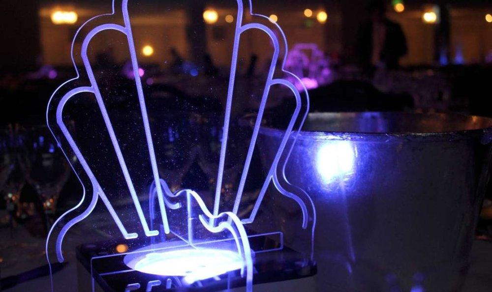 Art Deco Mini Table Centres