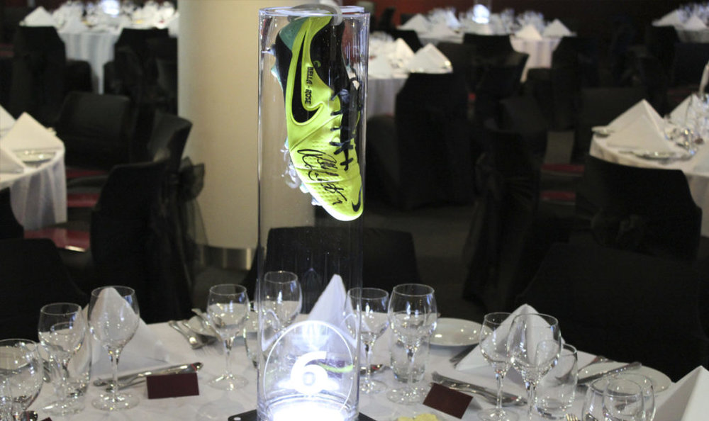 Football Boot Table Centres