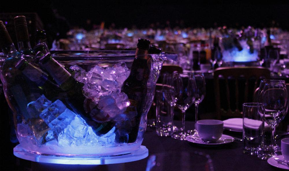 Single Ice Bucket Table Centre