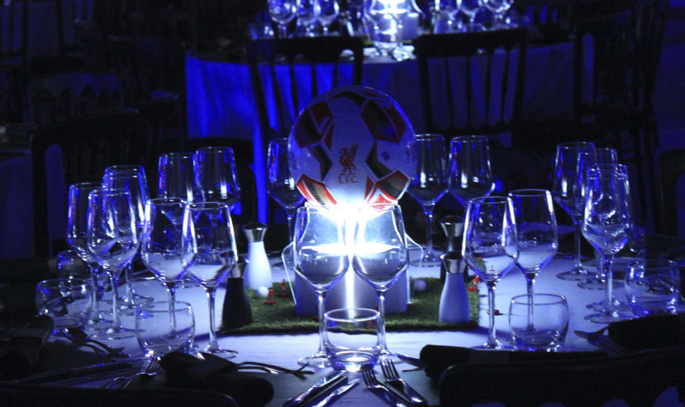 Low Football Table Centres