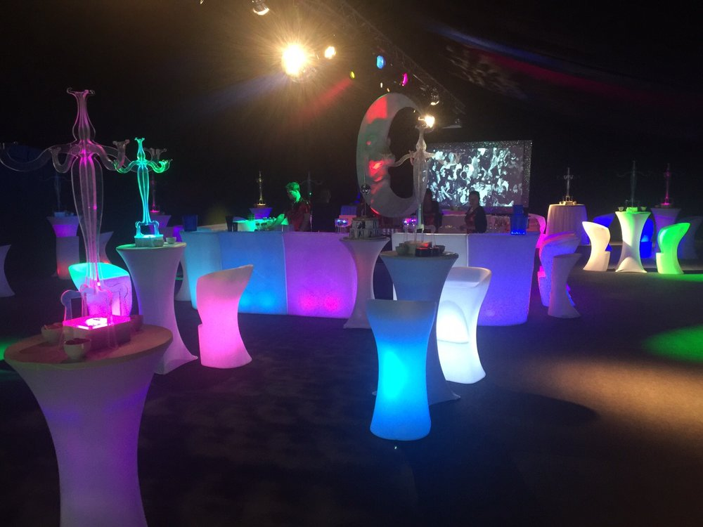 LED Bar Stools