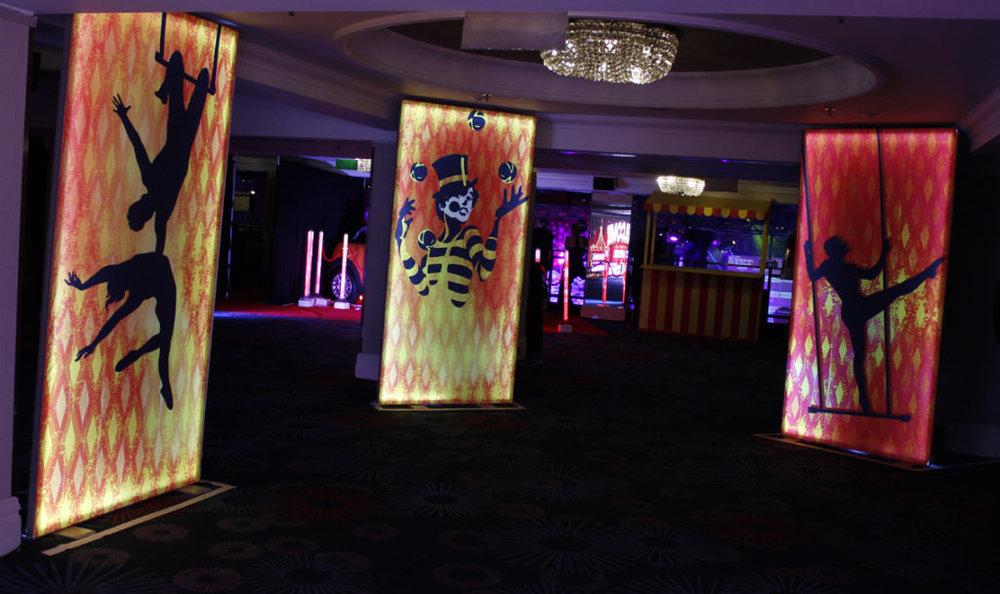 Circus Light Panels