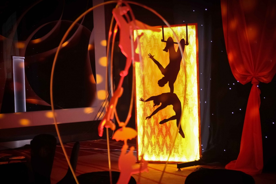 LED Acrobats and Light Panels