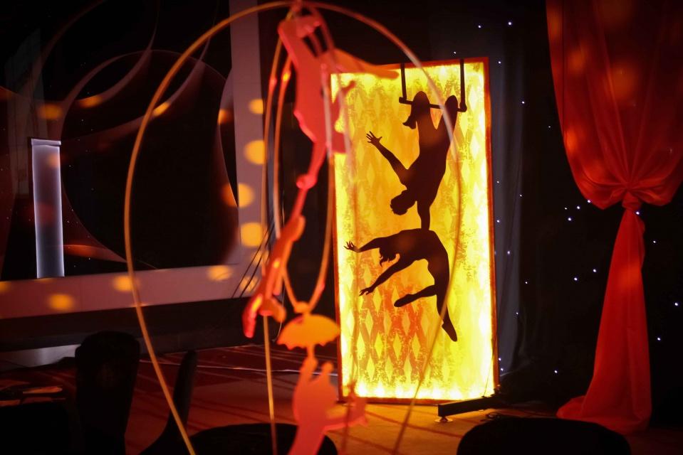LED Acrobats and Light Panels