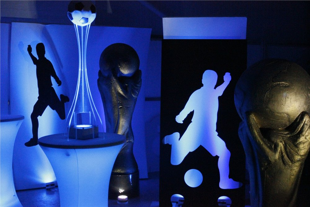 Football Light Panels and Centrepiece