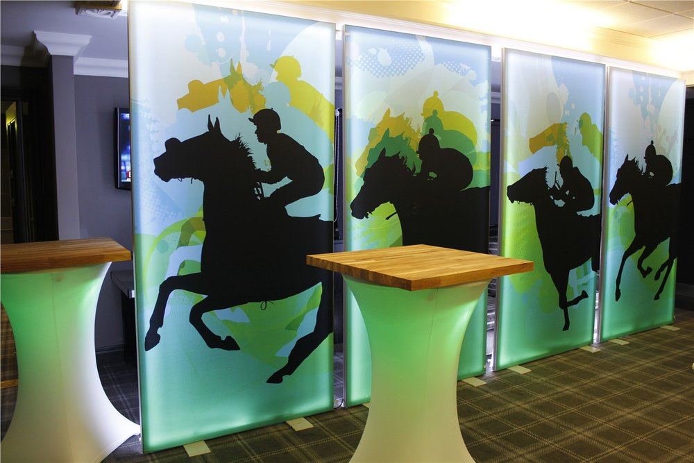 Horse Racing Light Panels