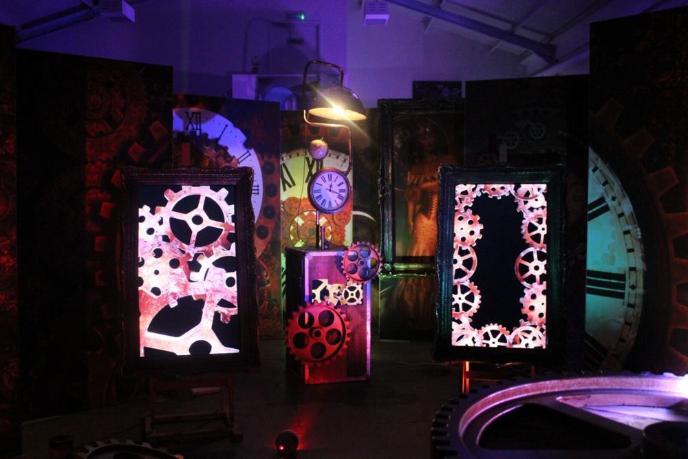Steam Machine and Steampunk Light Panels