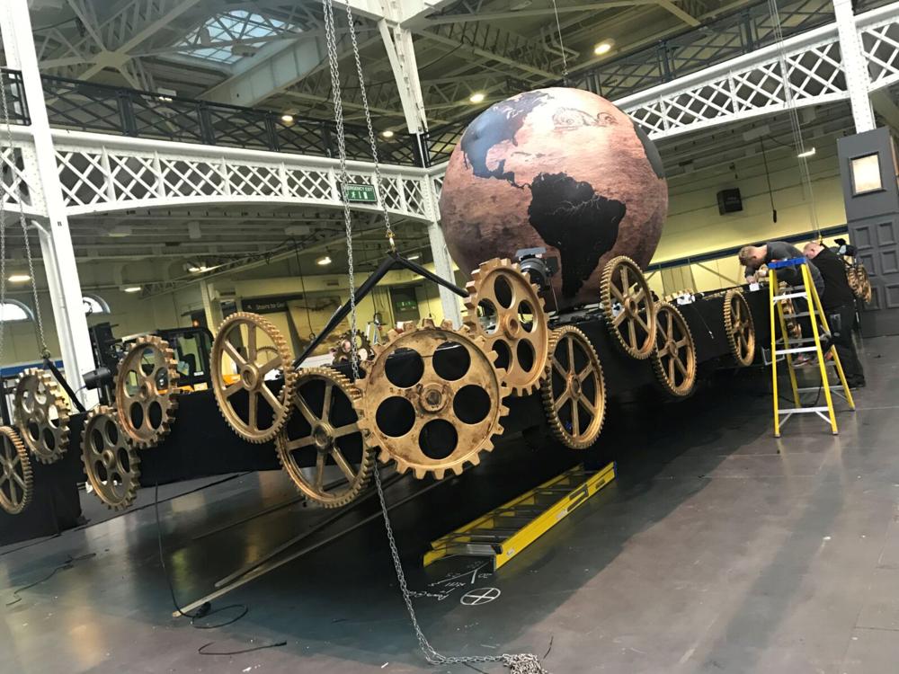 Steampunk Exhibition Display