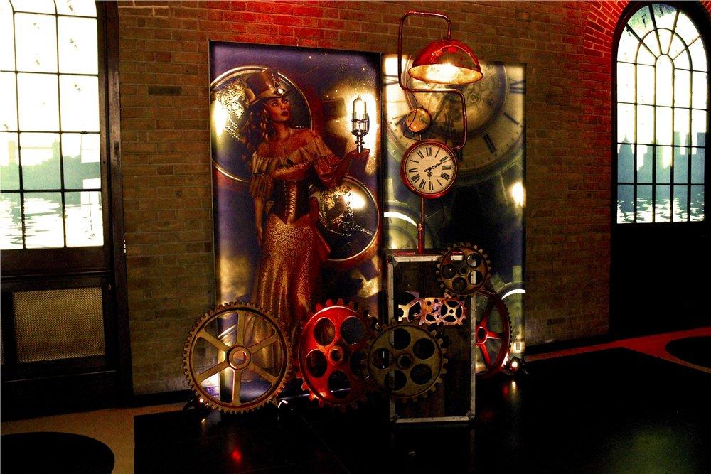 Steampunk Light Panels