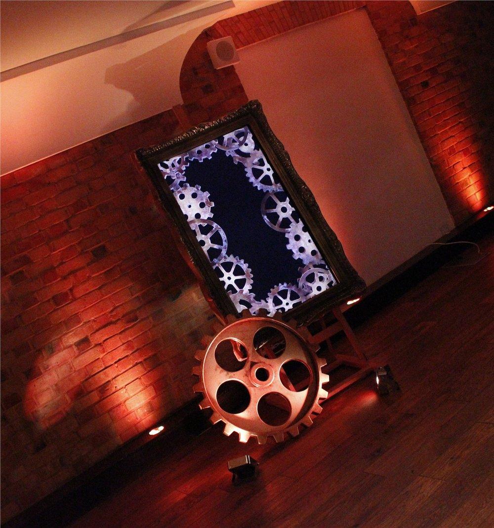Steampunk TV Display