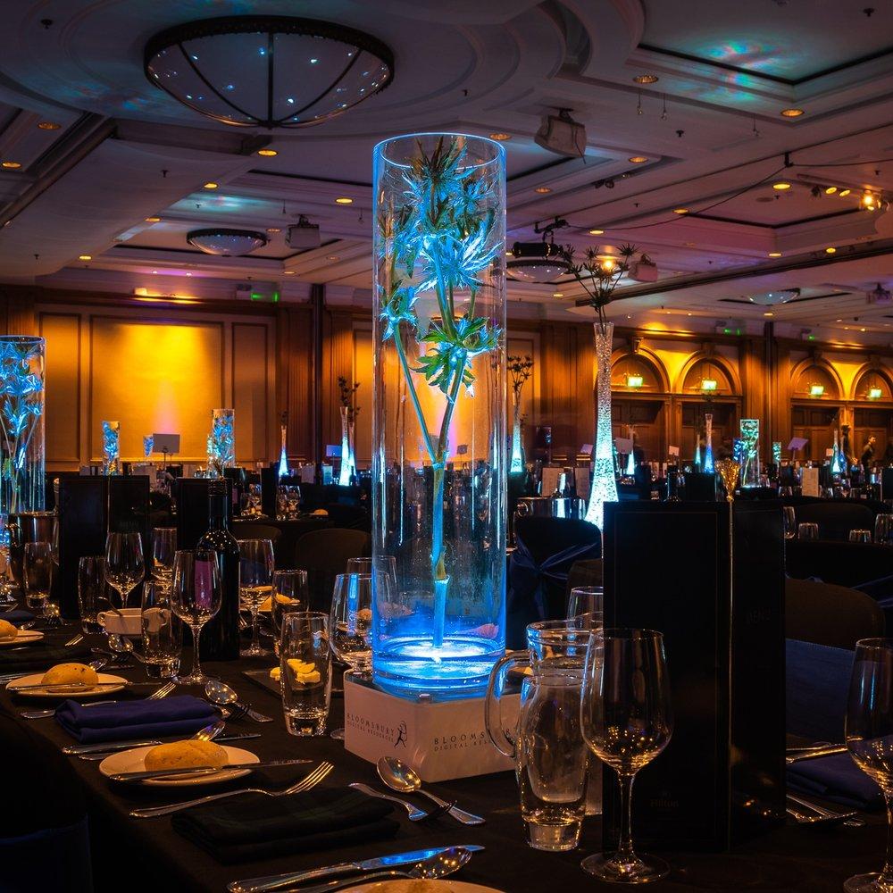 Thistle Wide Vase Table Centre