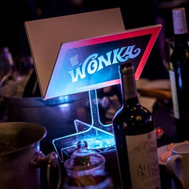 Wonka Bar Table Centre