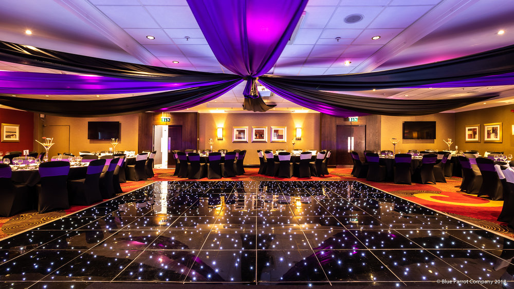 Ceiling draping for hire Scotland
