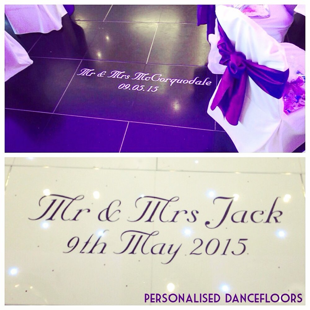 Dancefloor personalisation Scotland