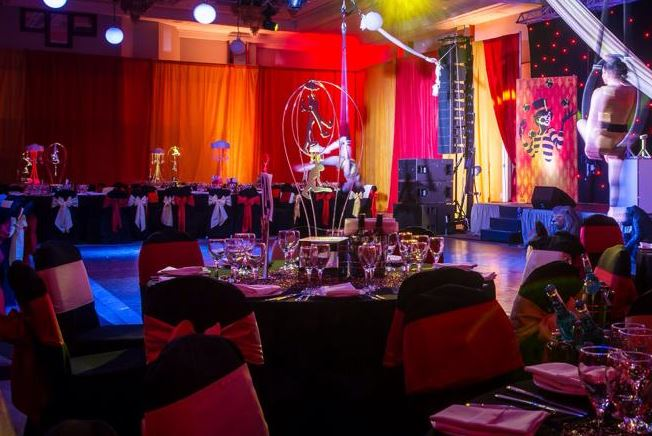 Venue wall draping for hire Scotland