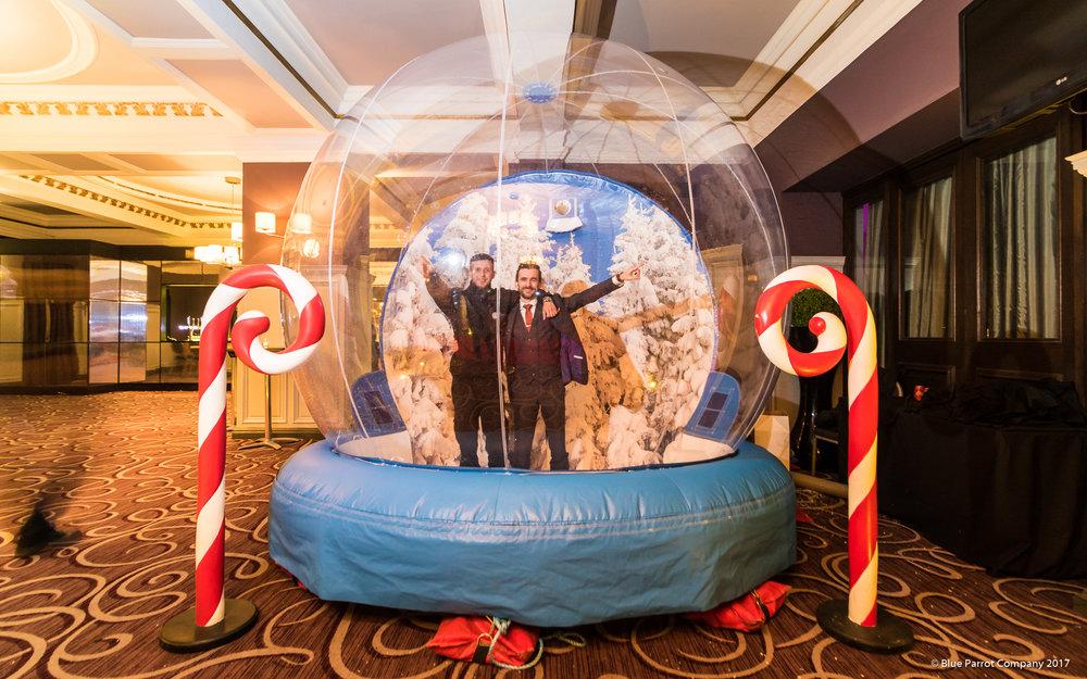 Snow Globe/Party Globe for hire Scotland