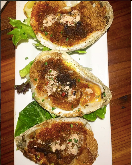 Baked Oyster Blue