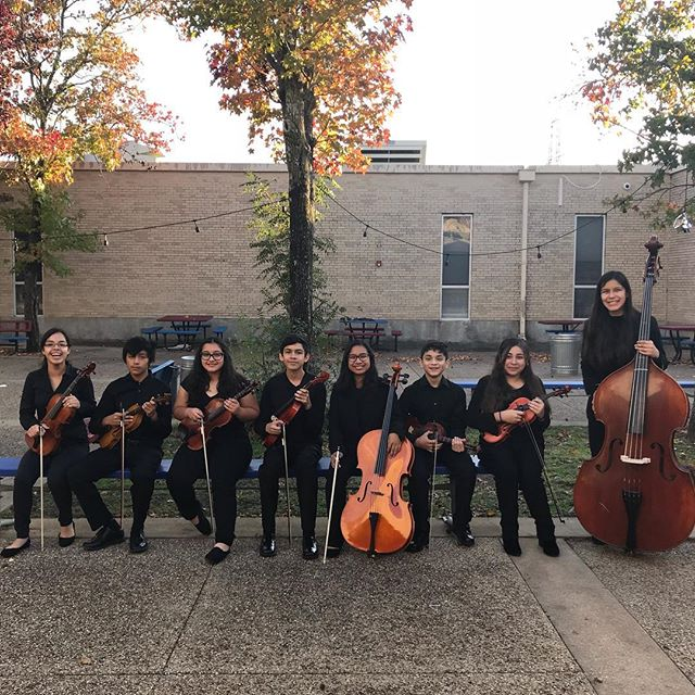 FWISD All District Orchestra. Rosemont had 8 students perform! Congratulations to these wonderful musicians! #fwisdvpa #fwisd