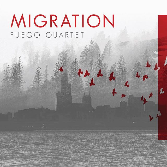 Alrighty everyone! Now that we are united in Florida for the first leg of our tour, we are SO excited to unveil the artwork for our new album, Migration! The idea for this album is to explore the saxophone migrating through different sound worlds, from Gregorian chant and Bach chorales to popular styles to percussive sounds. We are thrilled to feature a newly commissioned work, Ornithology S, by Clay Mettens. This piece also serves as inspiration for the title of the album. We look forward to sharing more info soon! (Release date: 4/12/2019 through PARMA's Ravello label)🎷🎷🎷🎷 —————— . . . . . #saxophone #classicalmusic #album #recording #project #chambermusic