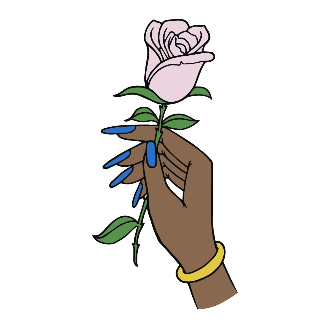 HAND & ROSE