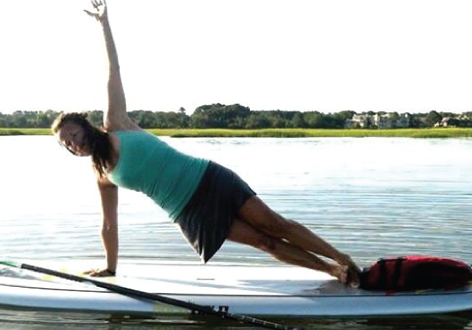 SUP Yoga - If you are looking for a fantastic workout, our 90 minute SUP Yoga class will give you a fresh take on the ancient art of yoga. With the salt marsh as your scenery, flow through this vinyasa experience while keeping balance on your board.Experience required. Must complete