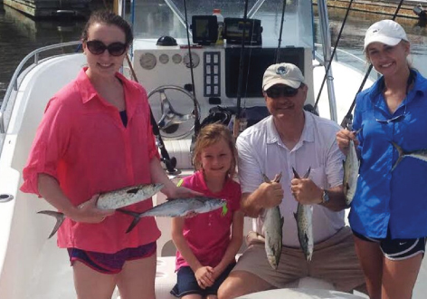 Lowcountry Fishing - This private fishing charter is perfect for families & folks looking to