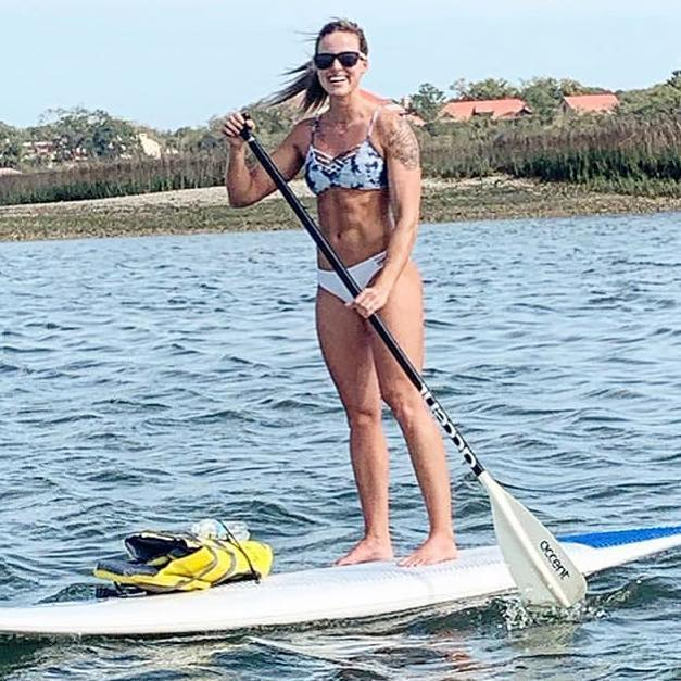 Love that you got back out on a paddle board, @erica_collins1! The water does you good. Thanks for sharing!  PC : Erica Collins.  #sup #standuppaddleboard #paddleboarding #paddleboard  #outsidehiltonhead #outsidepalmettobluff #outsidesavannah #outside