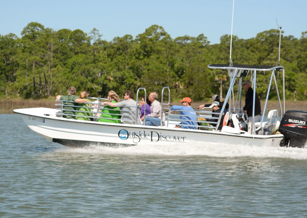 Savannah Private Charter (up to 12) - Choose our 12-passenger custom Carolina Skiffs for larger groups, or more to spread out.1 - Hour: $2252 - Hours: $3953 - Hours: $5554 - Hours: $715Each additional hour: $150