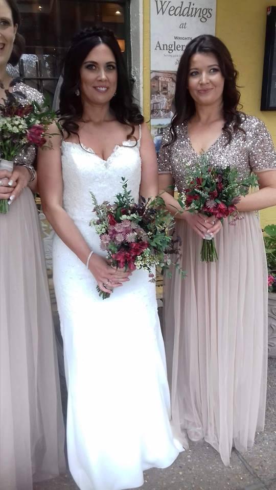 Spring Bridal Party Bouquet