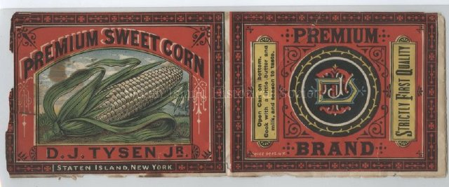 Produce Label, 1871-1890