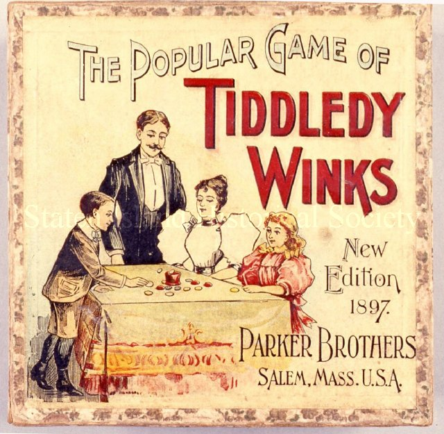 Tiddledy Winks Game, 1897