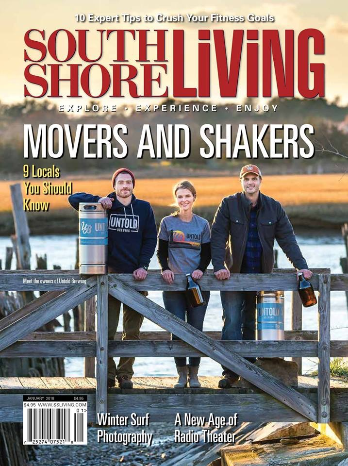 South Shore Living Magazine, January 2018: The Nine People to Know